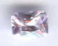 7x5 Emerald Cut Faceted Lavender