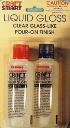 Liquid Gloss Twin Pack Resin 125ml x 2