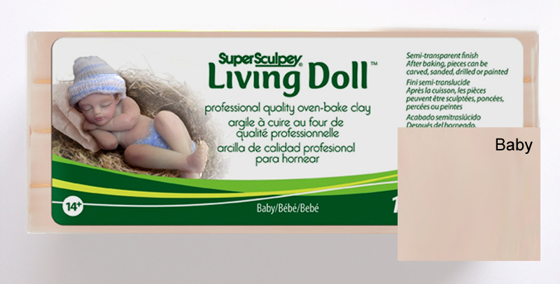 Sculpey Living Doll - Baby 454gm