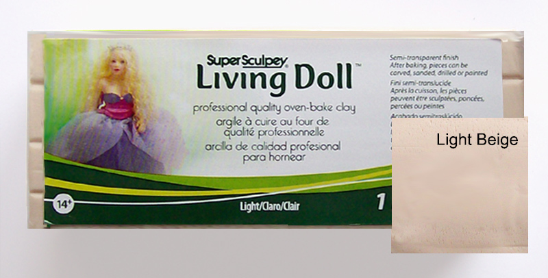 Sculpey Living Doll - Light 454gm