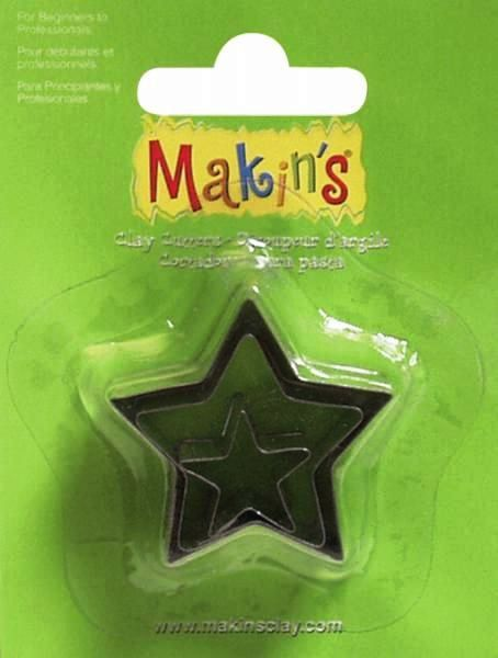 Makins Star Cutters Set of 3