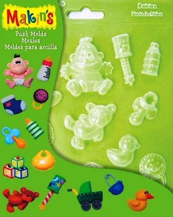 Push Moulds - Baby NEW DESIGN