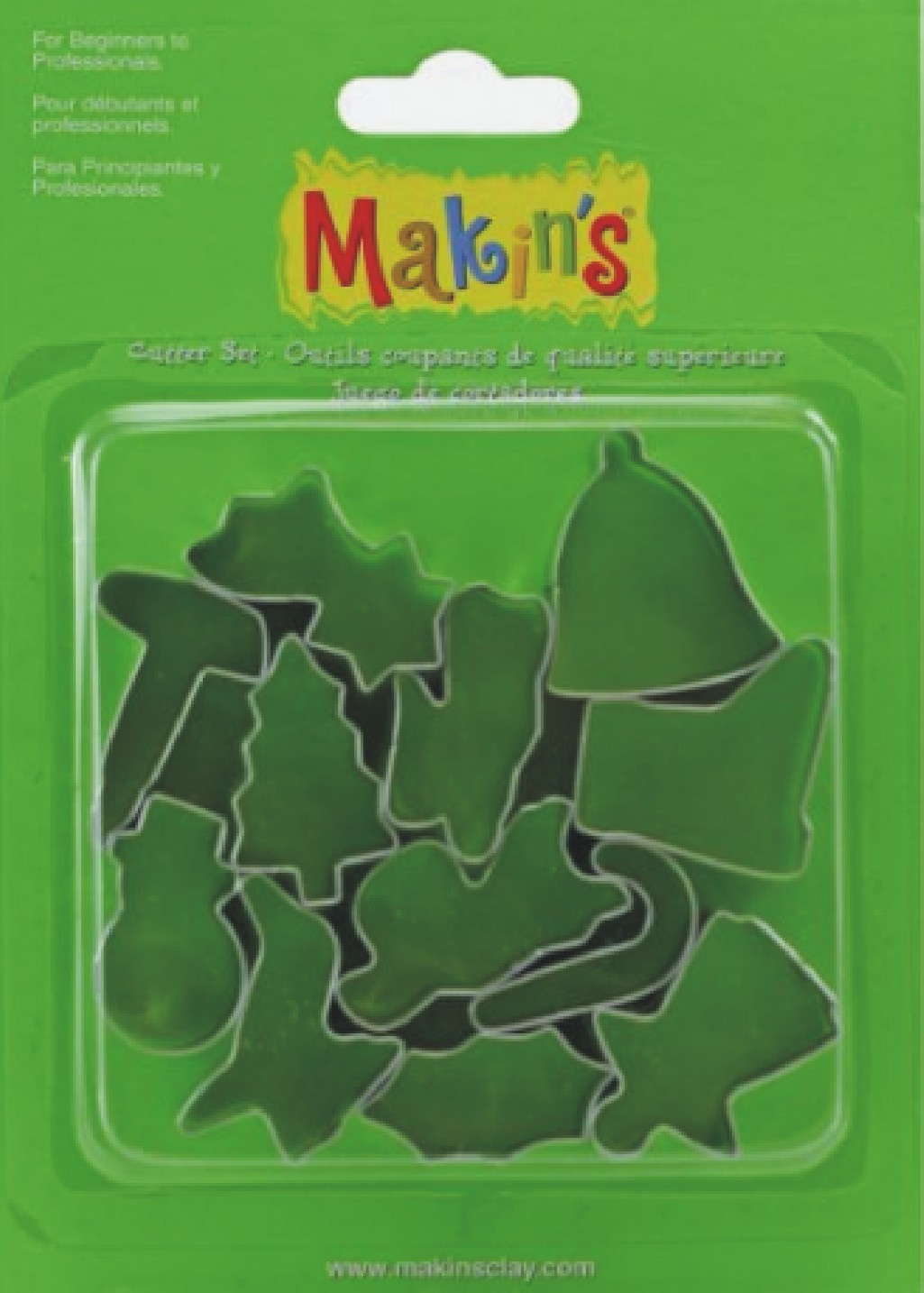 Makins Christmas Cutter Set of 12