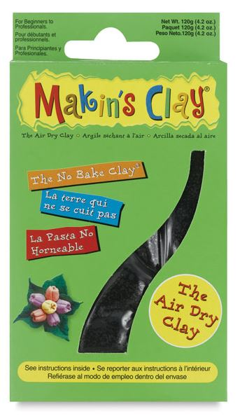 Makins Clay - 120g Black