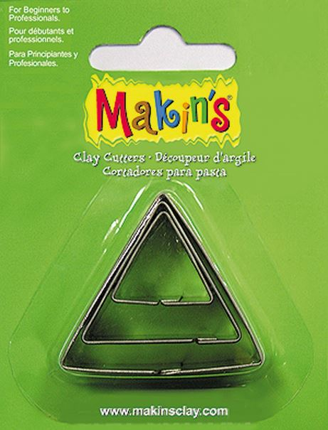 Makins Triangle Cutters 3 Piece Set