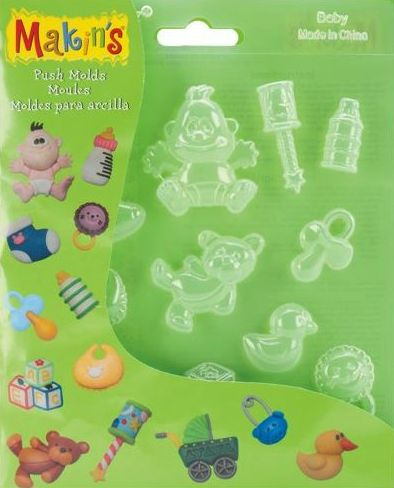 Makins Push Mould - Baby