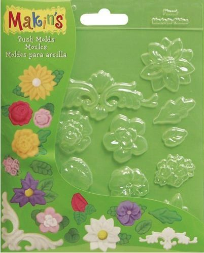 Makins Push Moulds - Floral