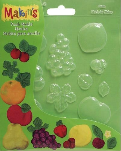 Makins Push Moulds - Fruit