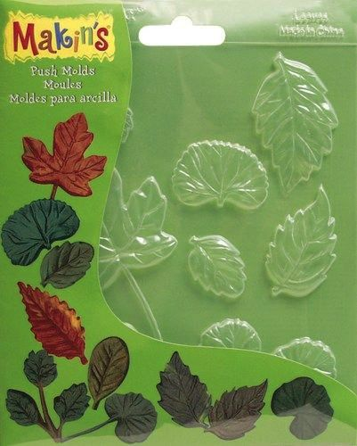 Makins Push Moulds - Leaves