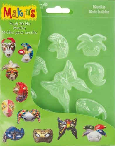 Makins Push Moulds - Masks