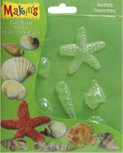 Makins Push Moulds - Sea Shells