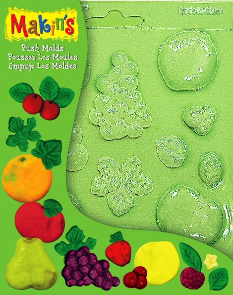 Push Moulds - Fruit