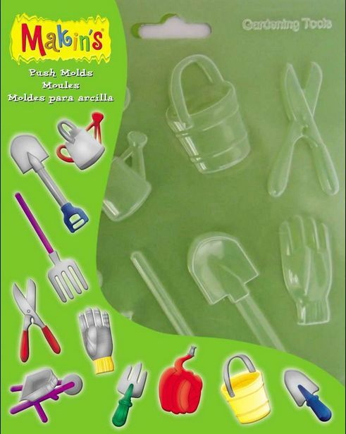 Makins Push Moulds - Gardening Tools NEW