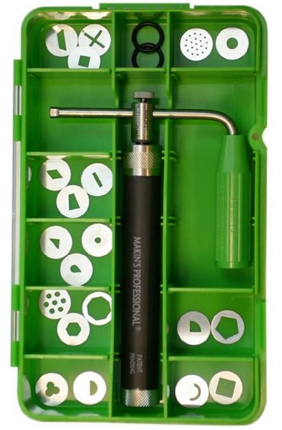 Makin's® Deluxe Stainless Steel Extruder set