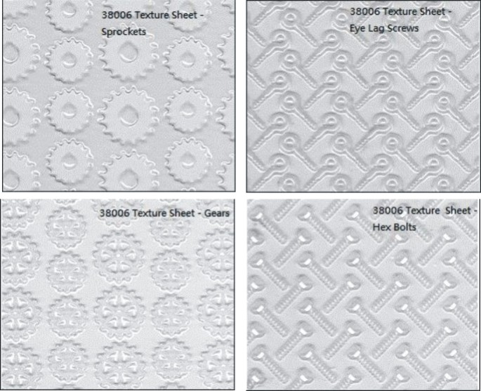 MAKIN'S-Clay Texture Sheet Set F