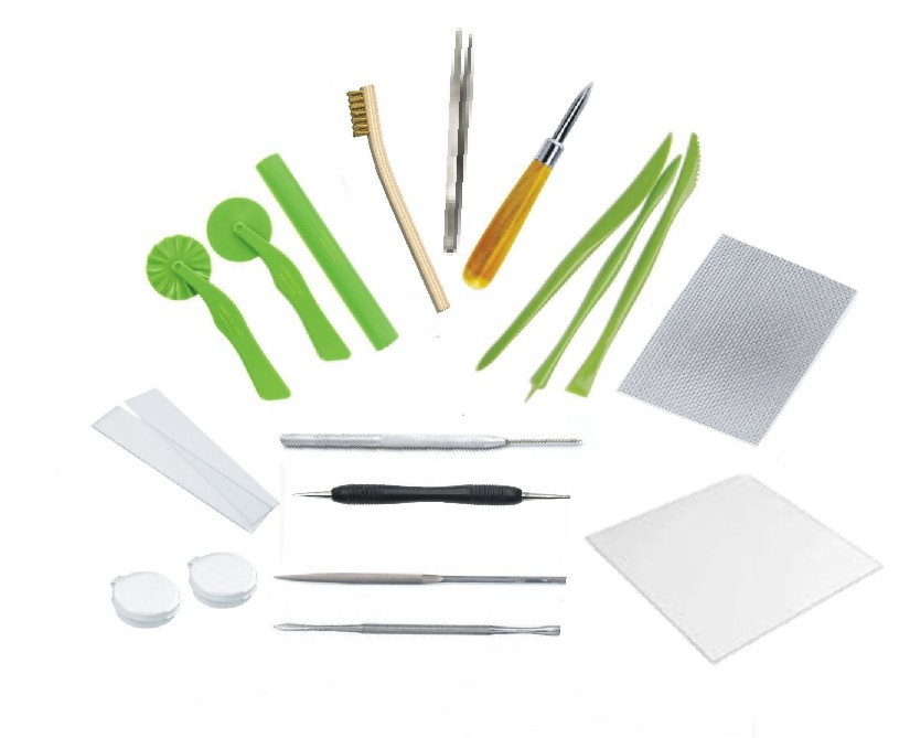 Metal Clay Tools - Basic Kit