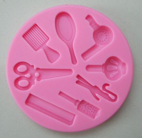 Hairdressing Tools Silicone Mould