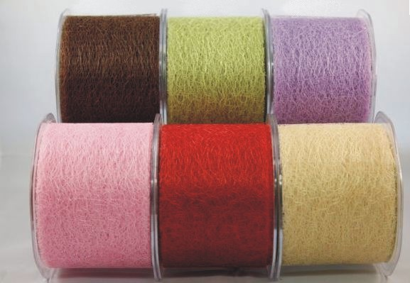 Textured Net Ribbon 6 colour Sampler