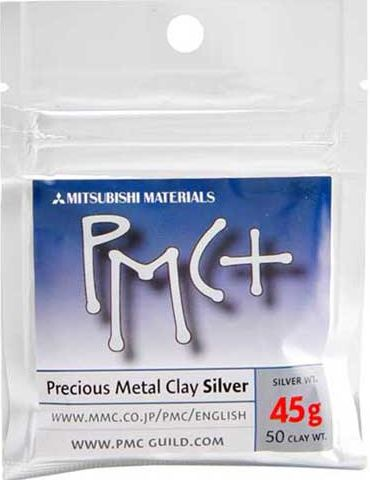PMC+ Silver Clay 45g Single Pack