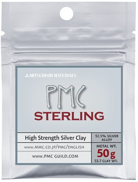 PMC Sterling Silver Clay, 50g