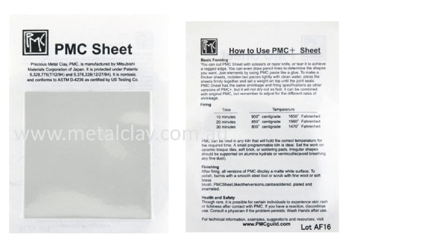PMC+ Sheet Square x 3 Pack