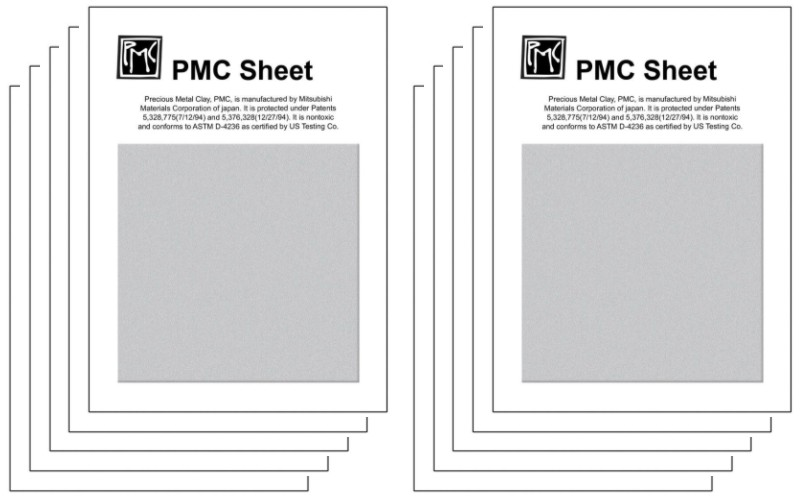 PMC+Sheet Square 6x6xm 10 Pack