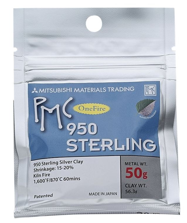 OneFire Sterling PMC 50grams x 5 Pack NEW