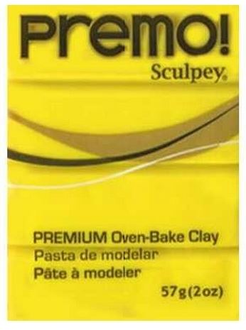 Sculpey Premo - Zinc Yellow 56g