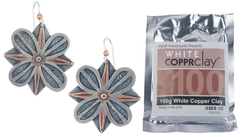WHITE COPPRclay 100grams NEW