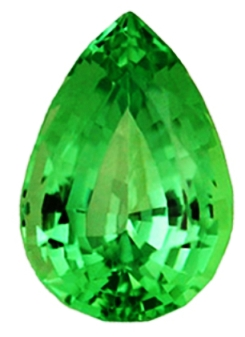 PEAR FACETED 6x4