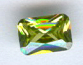 6x4 Emerald Cut Faceted Peridot