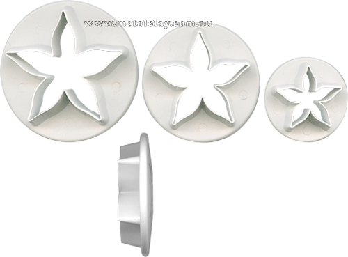 Cutter Set of 3 Calyx Petals