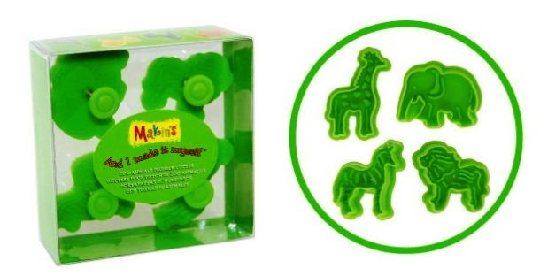Makin's® Zoo Animal Clay Cutter Set of 4