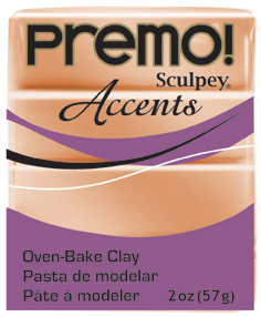Premo Sculpey Accents Copper