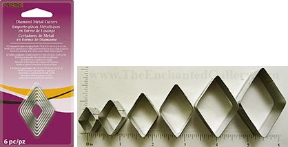 Premo! Sculpey Graduated Diamond Cutter Set