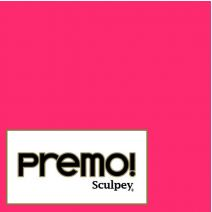 Sculpey Premo - Fluoresecnt Pink 56g