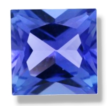 PRINCESS CUT FACETED 5MM