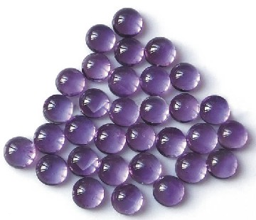 3mm Cabochon CZ Purple