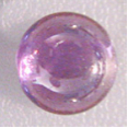 2mm Cabochon CZ Purple