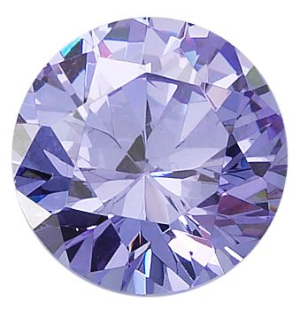 ROUND FACETED 2.5MM