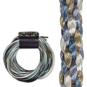 Kumihimo Satin Cord 2mm - Chino Variegated
