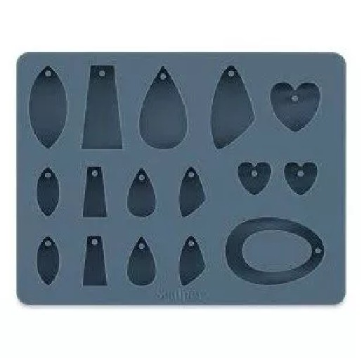 Sculpey Bakeable Silicone Mould – Jewellery Shapes