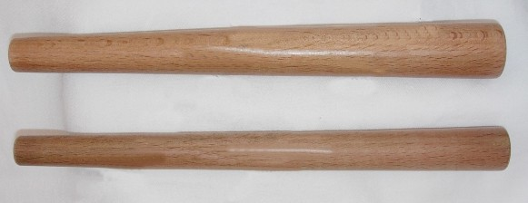 Wooden Ring Mandrel - separated
