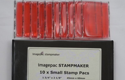 Stampmaker Gel pack of 10 x small size
