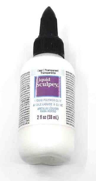 Sculpey Liquid Polymer Clay TRANSPARENT Clear 59ml NEW