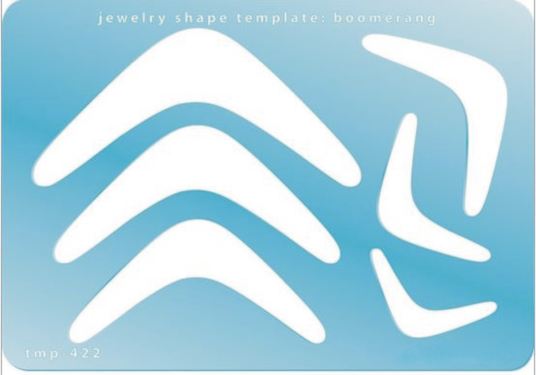 Template - Boomerang Shapes