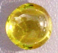 2mm Cabochon CZ Citrine - Yellow