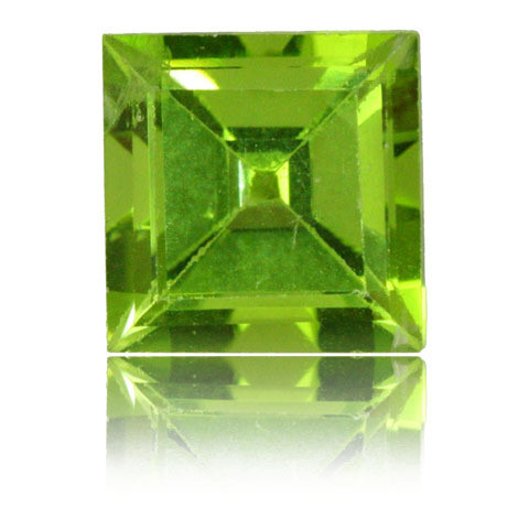 PRINCESS CUT FACETED 8MM