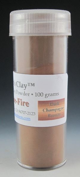Hadar's Clay™ One Fire Dark Champagne Bronze 100grams