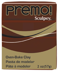 Sculpey Premo - Burnt Umber 56g